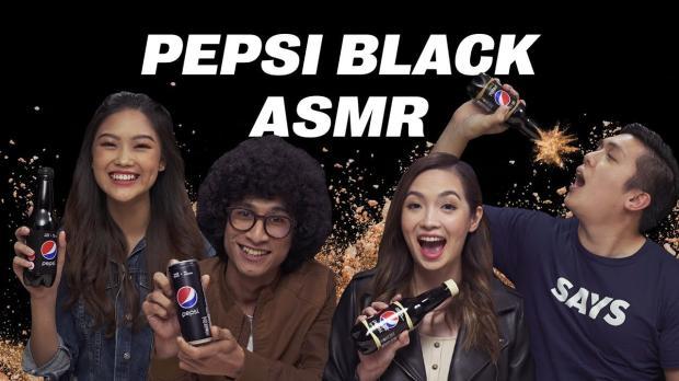 我们用ASMR风格尝试了新出的黑暗重口味的百事可乐