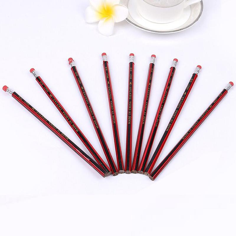 【博格利诺办公】学生HB铅笔10支装