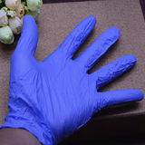 Disposable latex experiment anti-dirty hand oil-proof flip liquid glove hand made of soft clay sludge without fingerprints