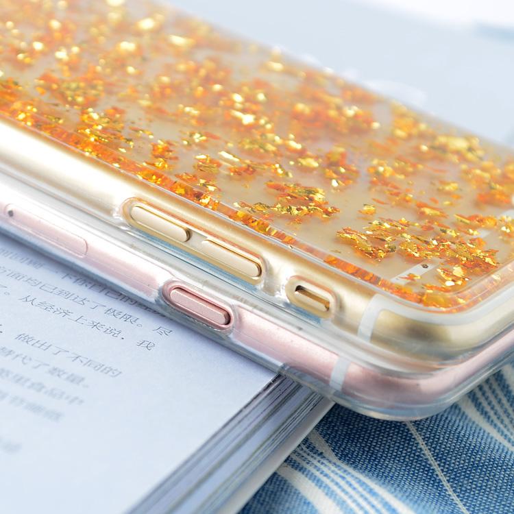 Electronics - Transparent Glitter TPU Soft Case Iphone X Case