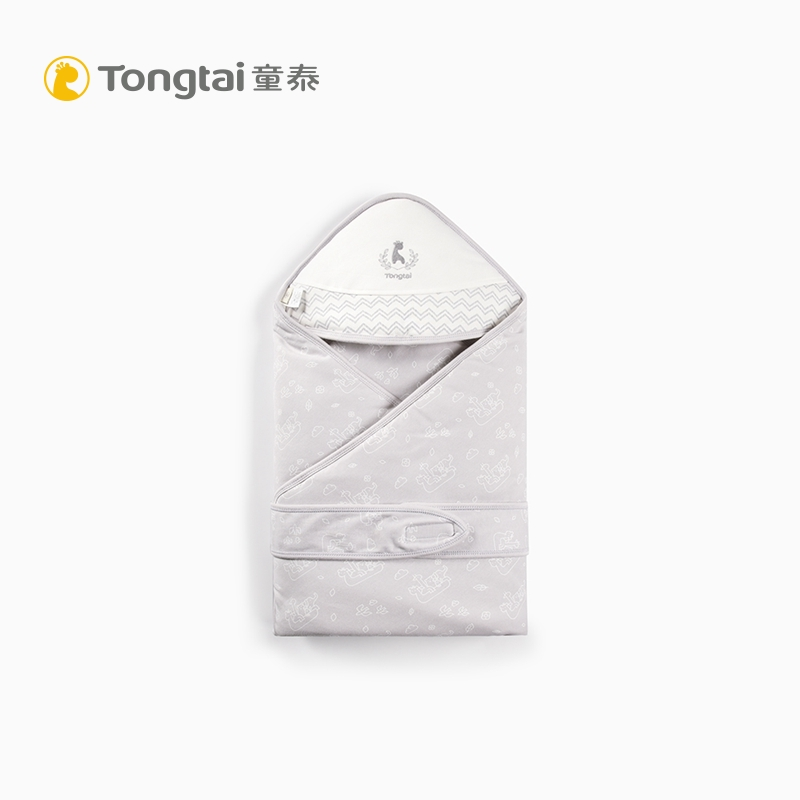 Tong Tai spring 2019 new baby bedding cotton package is male and female baby thin cotton bag is out to hold the blanket
