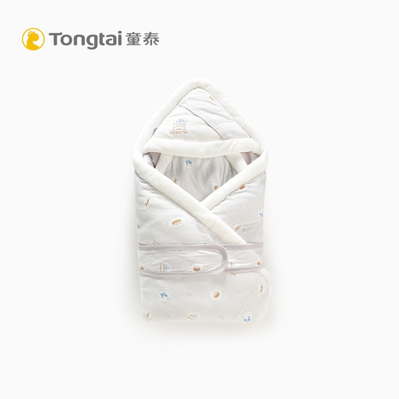 Tongtai 19 autumn/winter new crib products go out to hold a blanket newborn cotton thickened embrace by removable inner bile