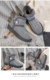 G004 new winter snow boots with drilling loafers bread shoes with plush for warmth
