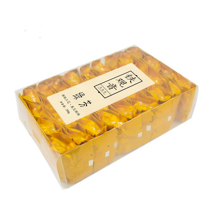 绿芳茶叶秋茶浓香型铁观音茶叶炭焙乌龙茶新茶礼盒装新茶250g*2盒