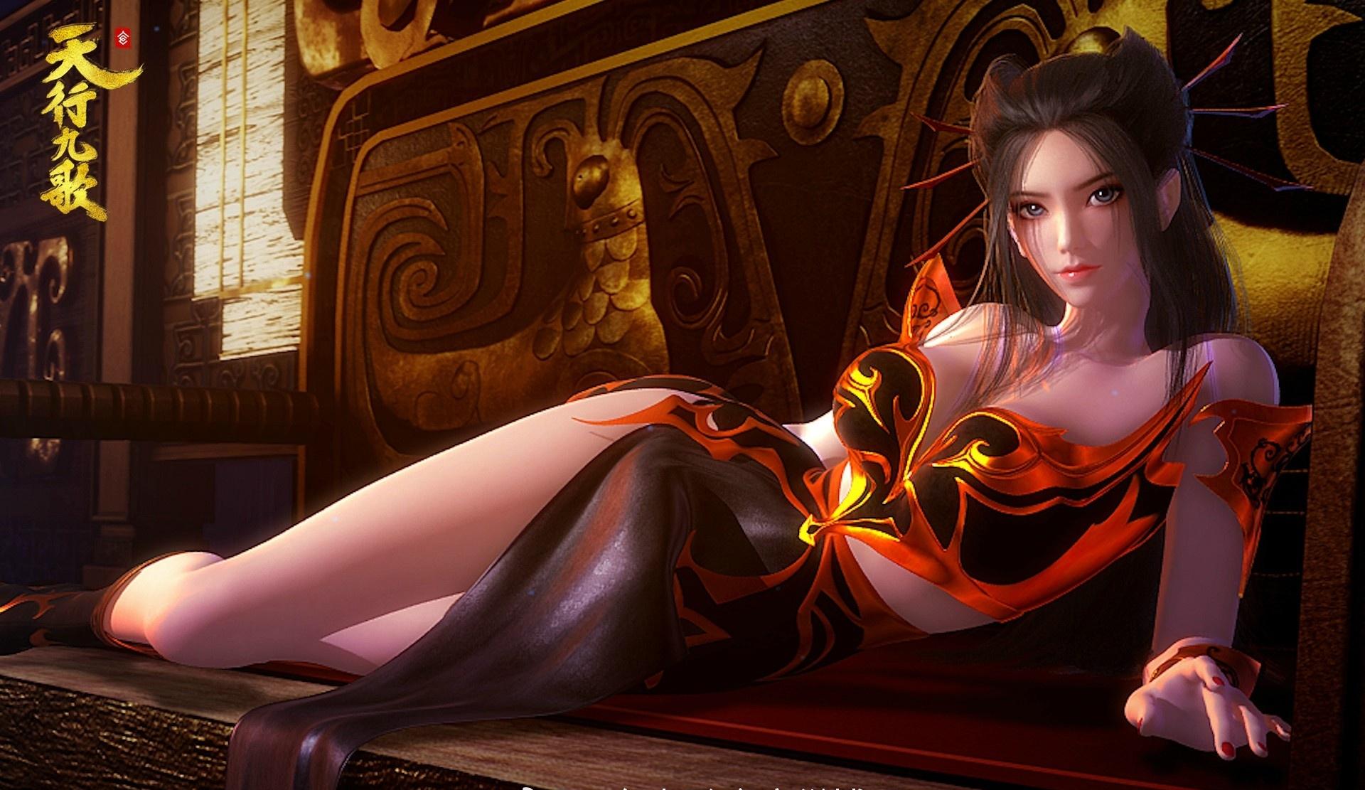焰灵姬/红莲 - 天行九歌 - 一波可以当一年桌面背景的图片