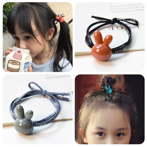 Ребенок задний послать веревку не больно волосы украшения милый корейский принцесса голова двойной наконечник девочка кобура резинка для волос