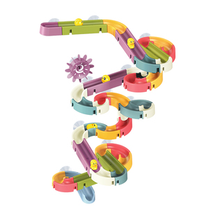 儿童滚珠轨道大颗粒积木墙拼装玩具益智男孩小孩玩具智力女孩动脑