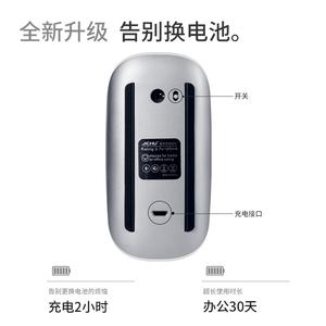 適用蘋果無線藍牙鼠標macbook筆記本ipad電腦藍牙原裝鼠標手機妙控鼠標二代2可充電靜音女生無需接收器