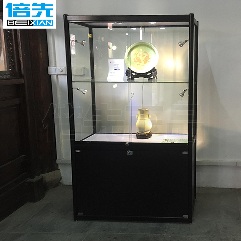 Custom text play antique display Cabinet Heritage antique Museum Glass  display Cabinet jewelry showcase exhibition display stand - USD 71.25] Custom Text Play Antique Display Cabinet Heritage