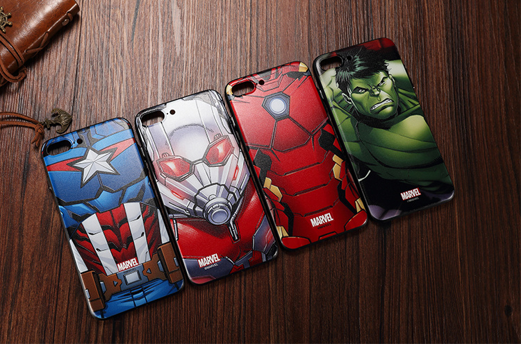 X-Doria Marvel Avenger Power 3D Hard PC Case Cover for Apple iPhone 7 Plus & iPhone 7
