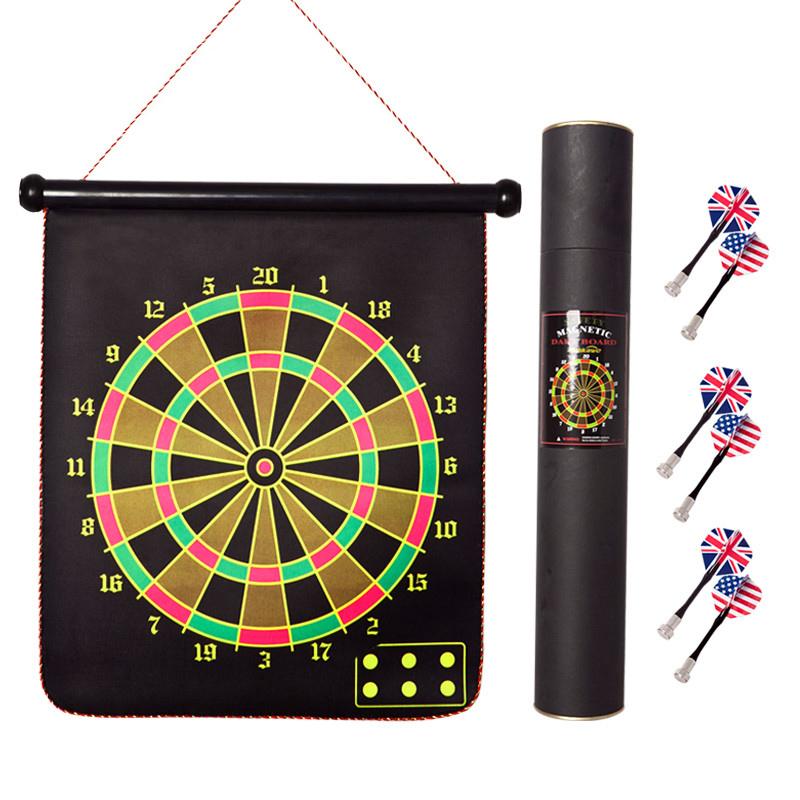 Bảng phi tiêu đặt nhà phi tiêu hai mặt mục tiêu từ tính mục tiêu cha mẹ con trò chơi kẻ hút an toàn chuyên nghiệp từ phi tiêu - Darts / Table football / Giải trí trong nhà
