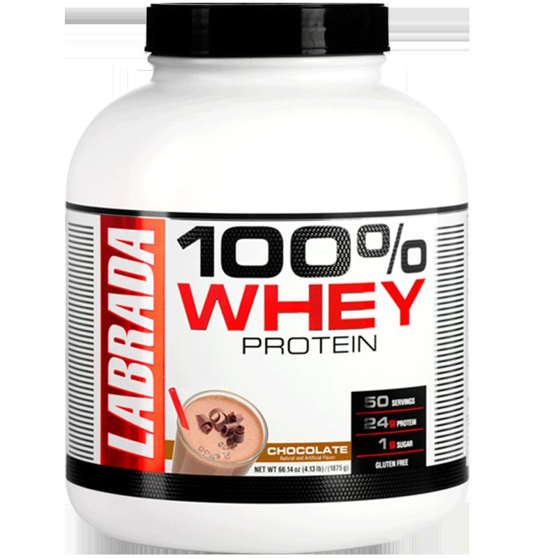 金达威LABRADA浓缩乳清蛋白质粉健身增健肌粉美国进口4.13磅临期
