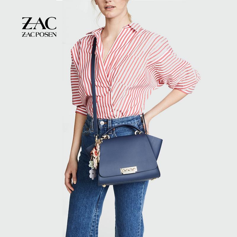 18年新款ZAC Zac posen牛皮Convertible Backpack双肩包