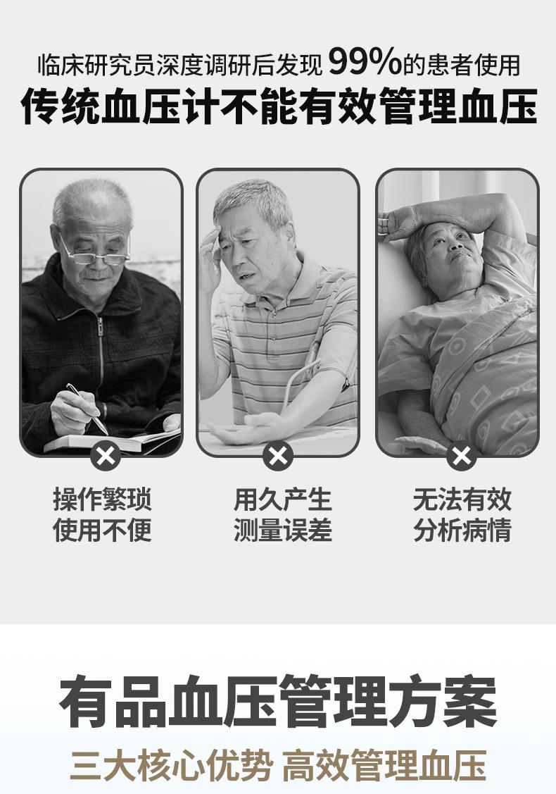 有品 医用级臂式全自动血压仪 语音播报 图2