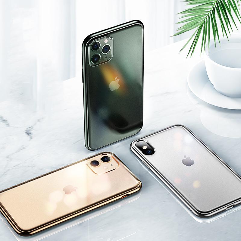 菲利迪 iPhone11ProMax手机壳11苹果X磨砂透明XSMax新款超薄原装iPhoneXR防摔套iPhoneX女男软壳11promax保护