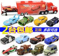 Положительный версия Гонки / Автомобили 3 черный Буря крутая сестра детские Игрушечная легкая тележка молнии McQueen панель Зубная дорога
