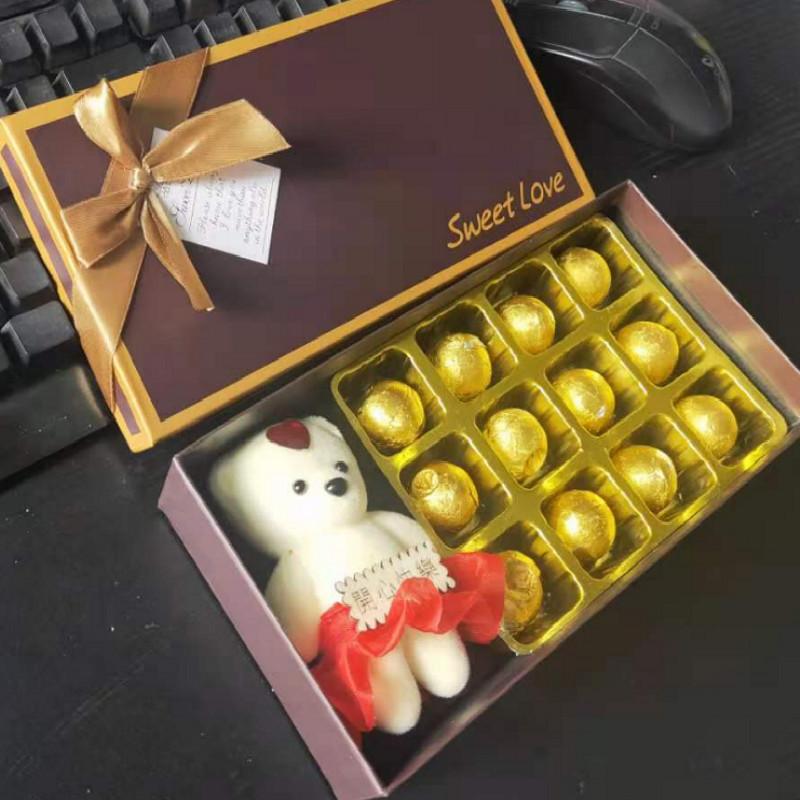 圣诞节礼物送女朋友老婆爱人精致创意套装礼品盒平安夜平安果实用