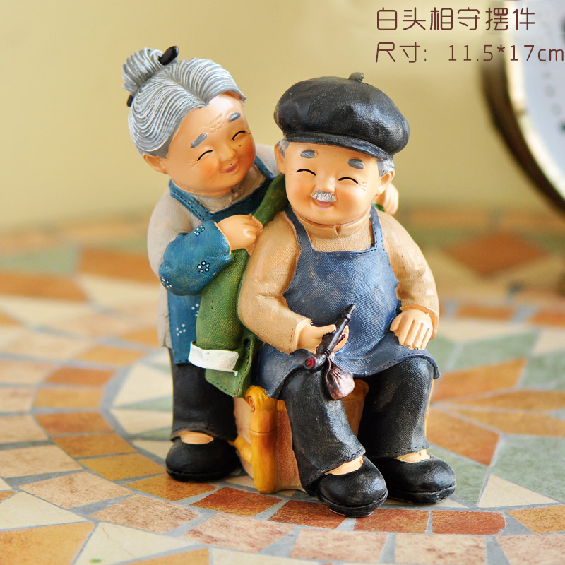 Birthday Gifts Elderly Home Decorations Small Ornaments Grandparents