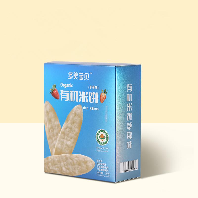【多美宝贝】婴儿米饼12袋每盒50克