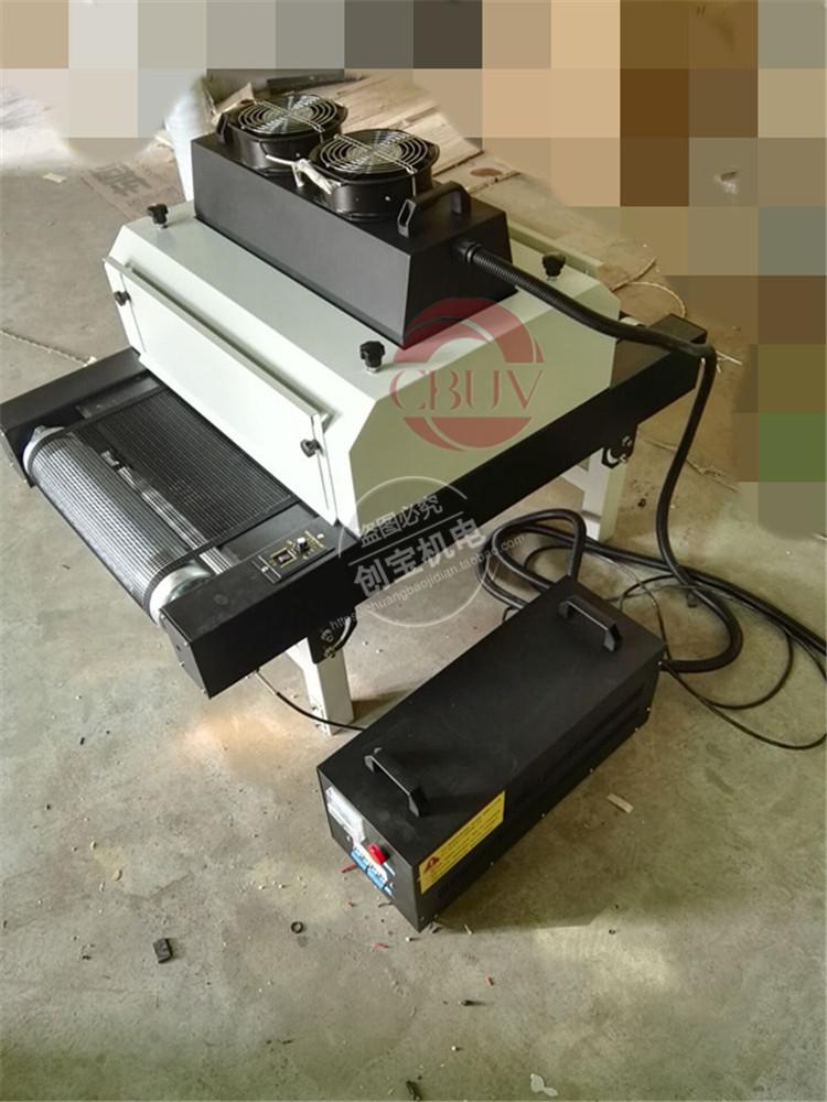 紫外线uv固化机_塑胶pvc板材光固机400/1台式紫外线uvuv罩光漆油墨