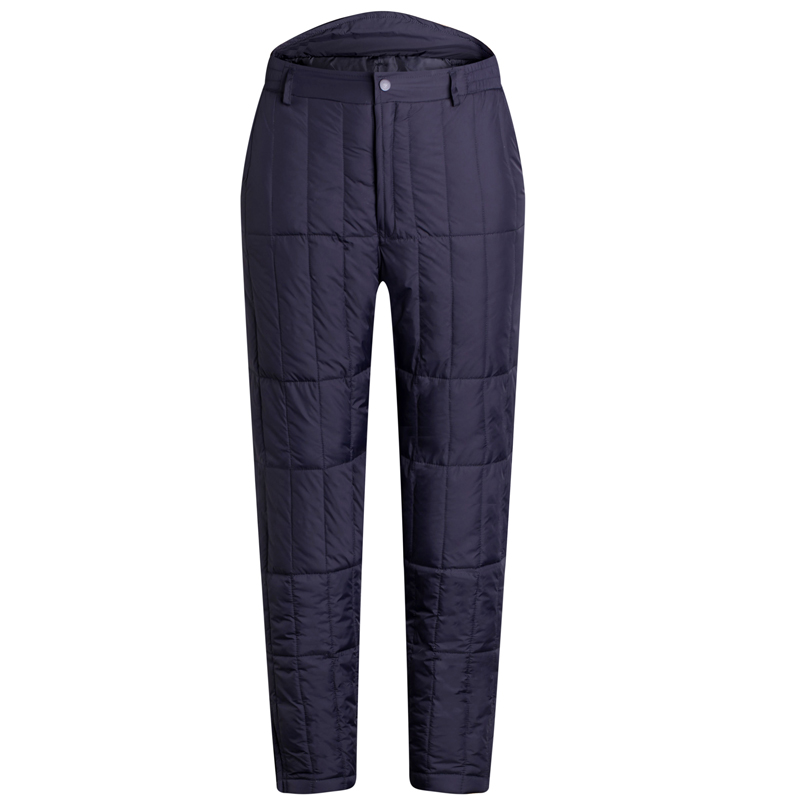 c4ee004a1b7 Winter middle-aged down pants for men and women plus fat plus size  thickening inside and outside wearing high waist warm down trousers men s  liner