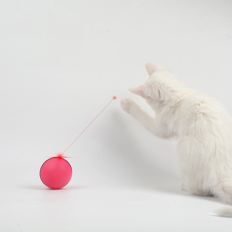 Qi Xianer Electric Ball Cat Toy Ball Funny Cat Ball Vibration Ball Pet  Supplies Laser Light ...