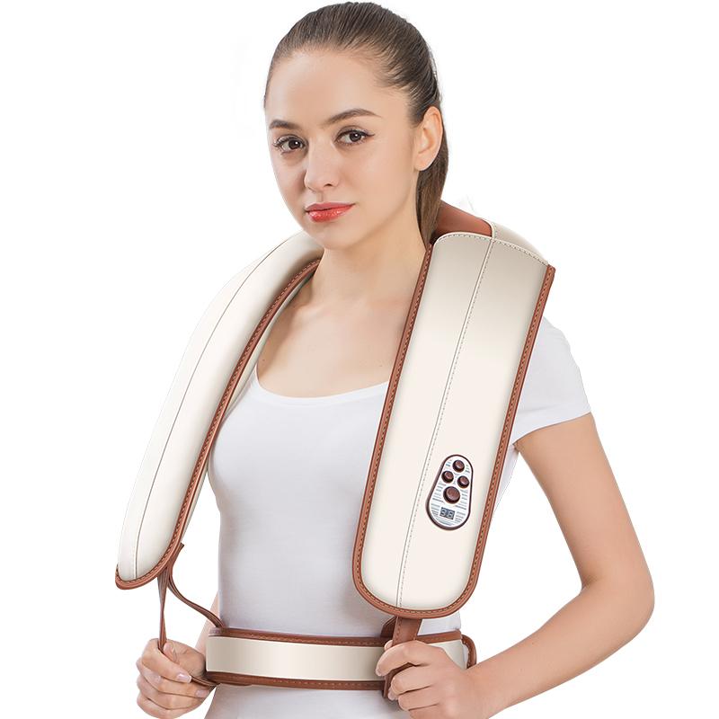 颈椎按摩器仪敲打锤颈部背部腰部肩膀部颈肩脖子肩颈家用捶打披肩