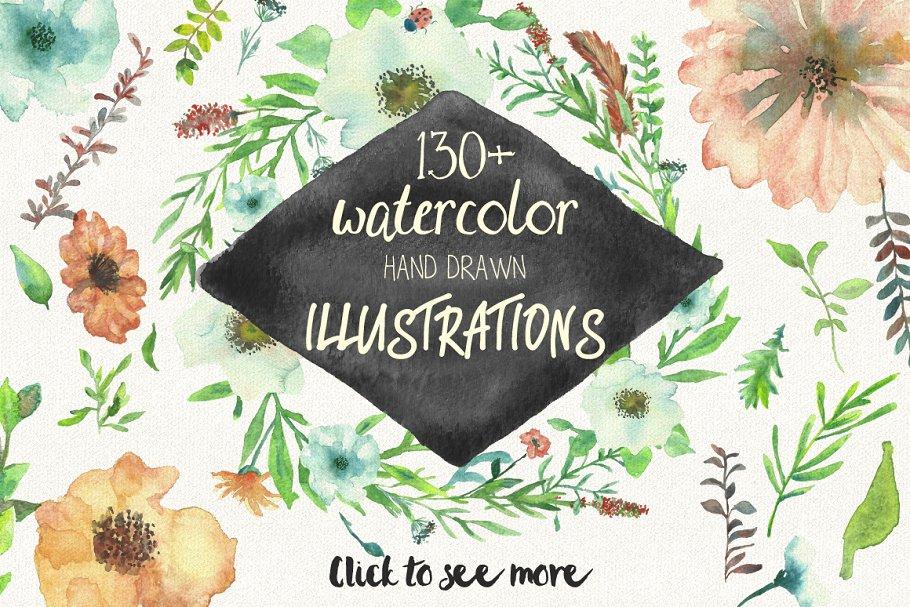春季喜庆字体包 Spring Celebration Font Collection设计素材模板