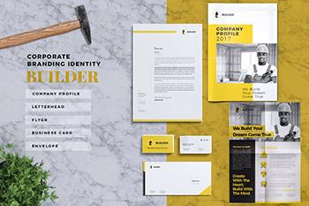 高品质的时尚高端多用途的房地产楼书品牌手册画册杂志VI设计模板(AI,EPS,INDD,PDF,PSD)