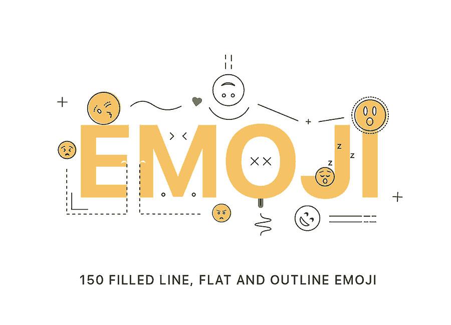 一套新鲜的矢量表情包源文件下载[AI]
