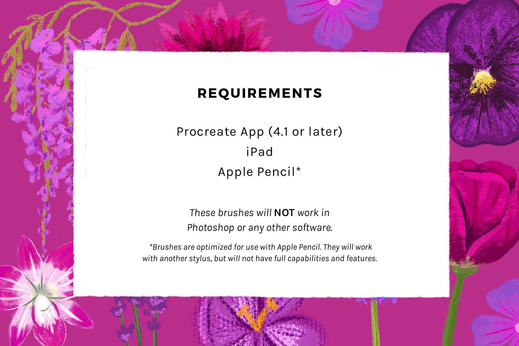 iPad Procreate蜡笔色粉纹理笔刷下载 Texturrific Pastels for Procreate设计素材模板