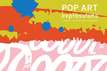 流行艺术图案背景 Pop Art Expressions | Patterns