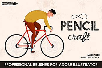 铅笔笔刷 Pencilcraft Brushes by Guerillacraft