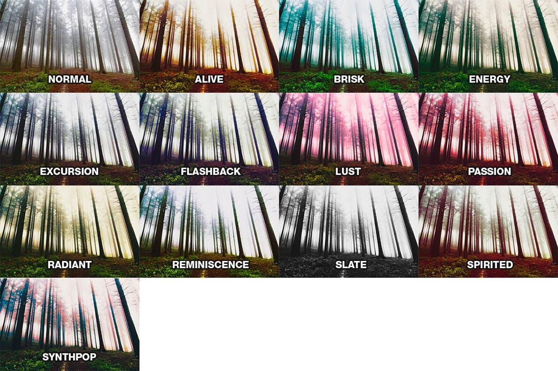 视觉震撼个性滤镜lightroom滤镜lightroom预设下载设计素材模板