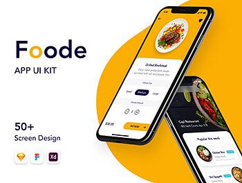 app设计 最强的美食点餐订餐APP UI套装下载 iOS Ui
