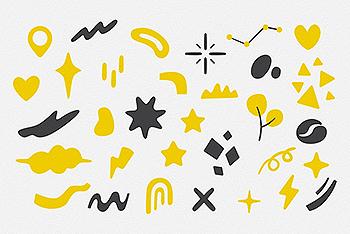 街头食品矢量插画图标素材(Ai)