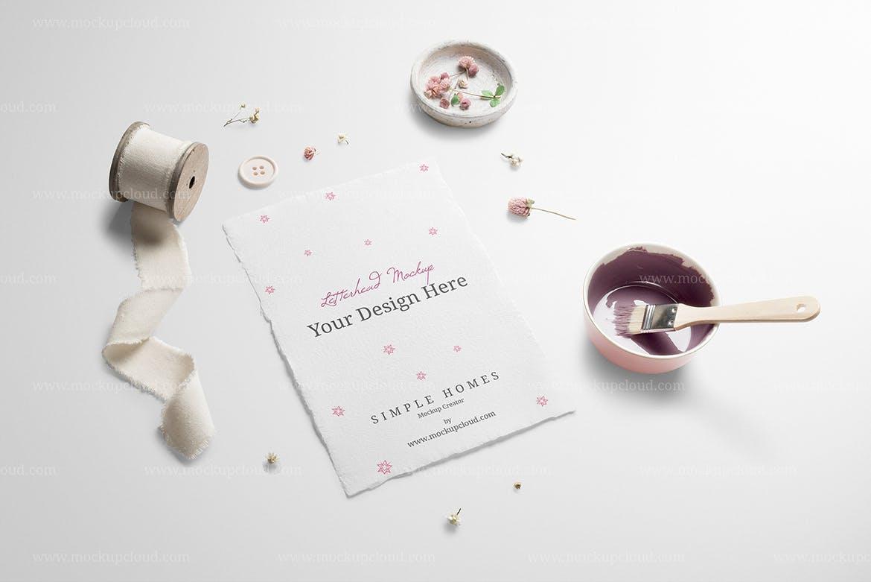 高品质优雅的温馨婚礼质感场景样机展示模型mockups设计素材模板
