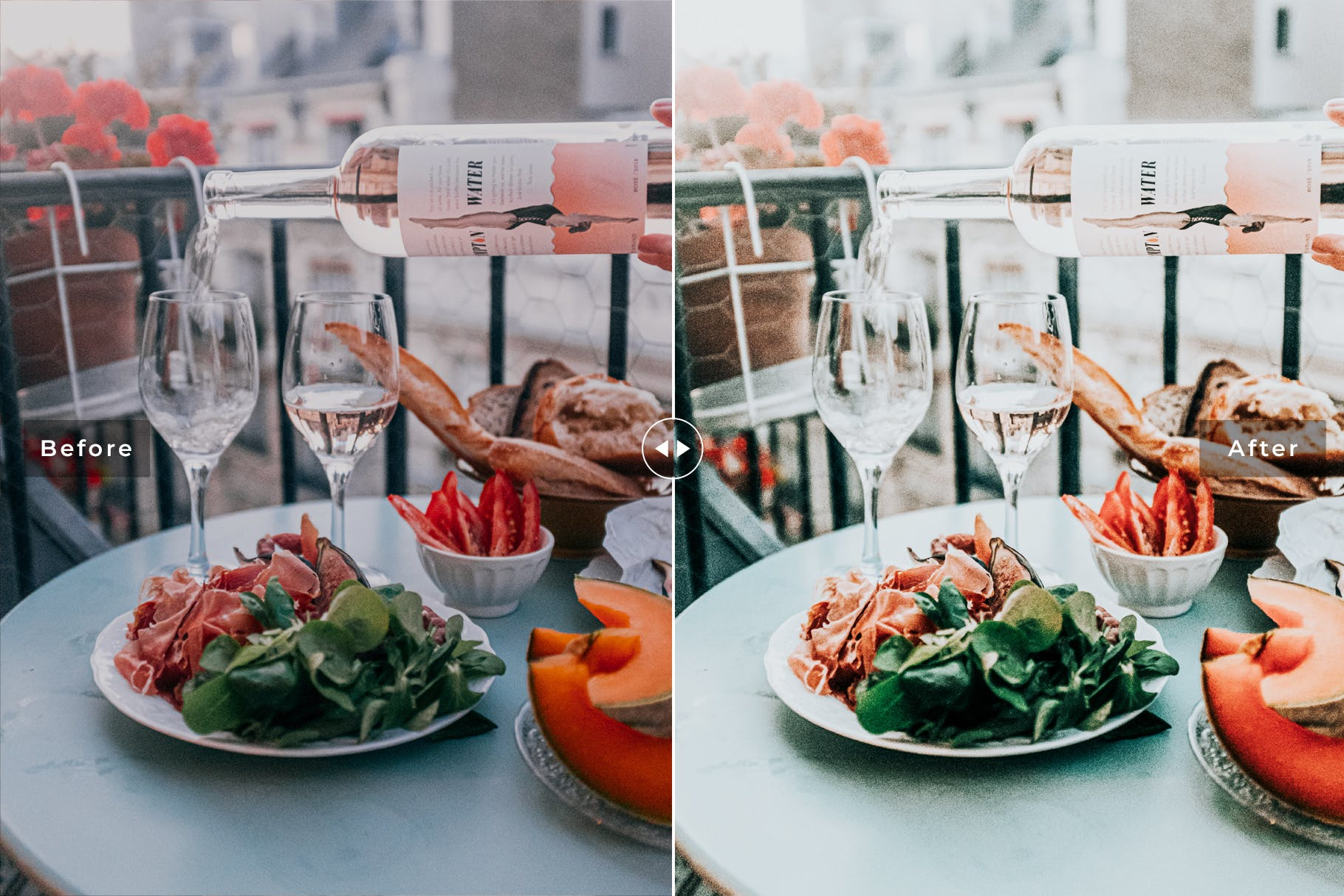 薄荷色&橙色明亮暖色调Lightroom预设 Peppermint Mobile & Desktop Lightroom Presets设计素材模板