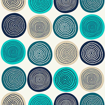 抽象时尚的圈圈图案 Abstract circles pattern design