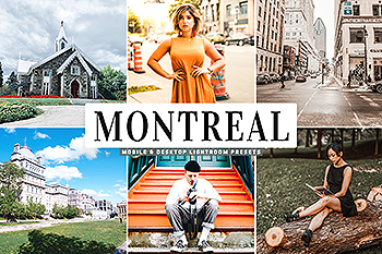 旅行摄影专业调色Lightroom预设下载 Montreal Mobile & Desktop Lightroom Presets