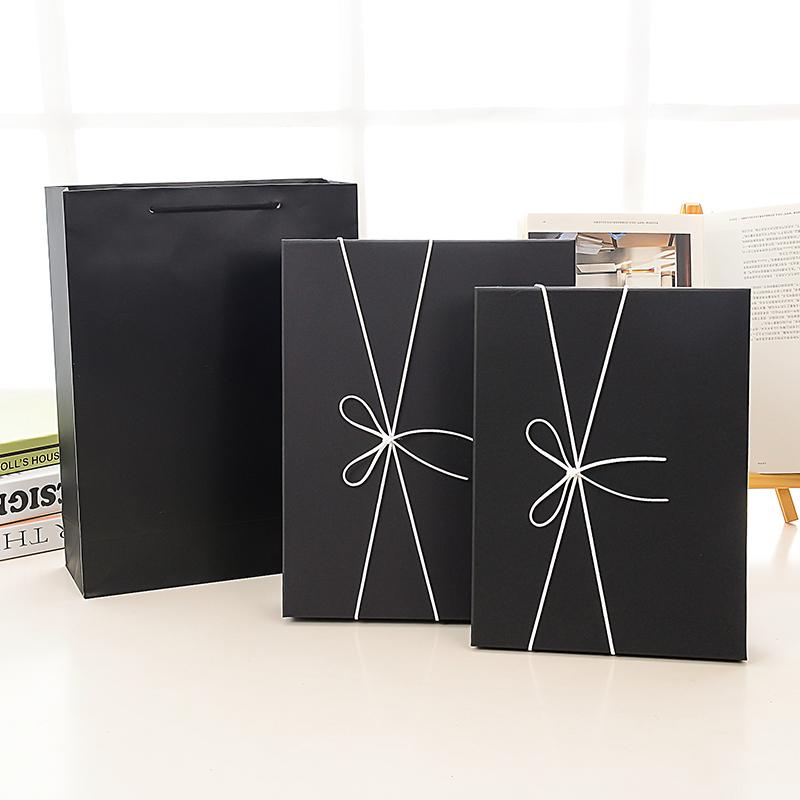 精美生日礼盒小清新礼物包装盒子定做围巾盒书籍相册礼品盒订制