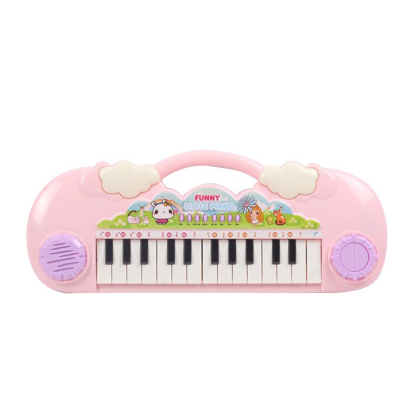 电子琴儿童初学女孩女童多功能宝宝音乐早教钢琴玩具带话筒3-6岁1_淘宝优惠券