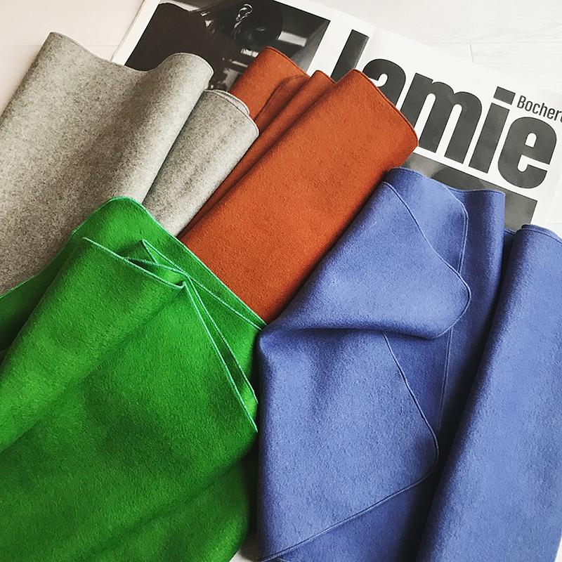 【MONA】 играть поворот цвет утолщённый овец волосы шарф женщина осенью и зимой теплый твердый длинная модель нагрудник шаль
