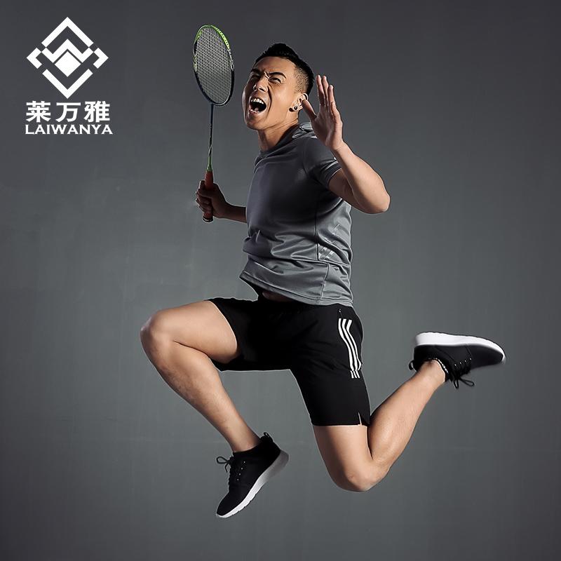 2019新款羽毛球服套装男女夏季速干短袖网球运动上衣短裤队服定制
