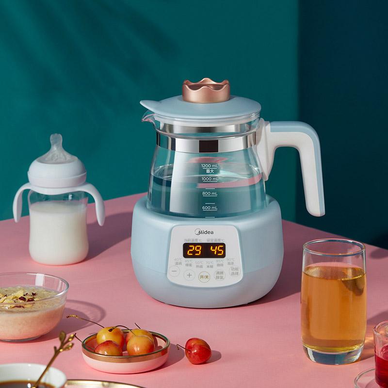 美的恒温热水壶智能婴儿调奶器自动多功能消毒冲奶温奶烧水暖奶器
