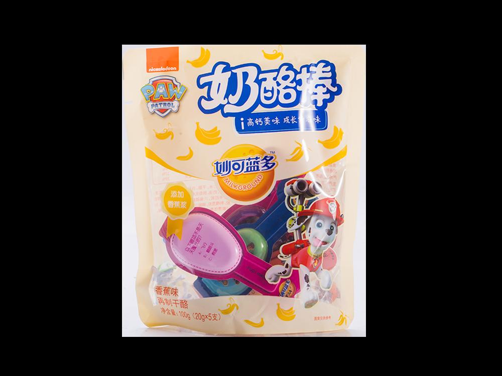 妙可蓝多奶酪棒香蕉味100g(20g*5支)