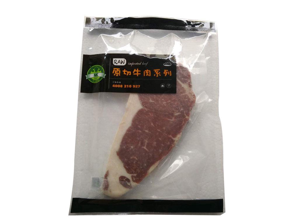尼卡其诺澳洲草饲西冷牛排150克