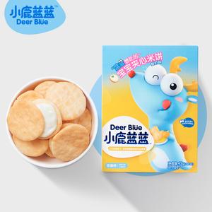 【小鹿蓝蓝】儿童零食夹心米饼宝宝磨牙雪饼
