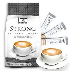 沃欧 特浓速溶咖啡15g*100条