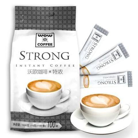沃欧 特浓速溶咖啡15g*100条优惠券